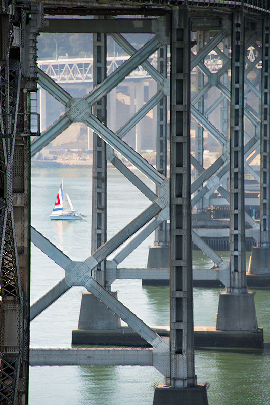 Old Bay Bridge Pylons © Harold Davis
