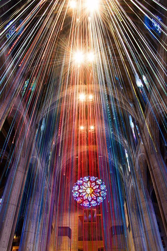 Graced with Light at Grace Cathedral © Harold Davis