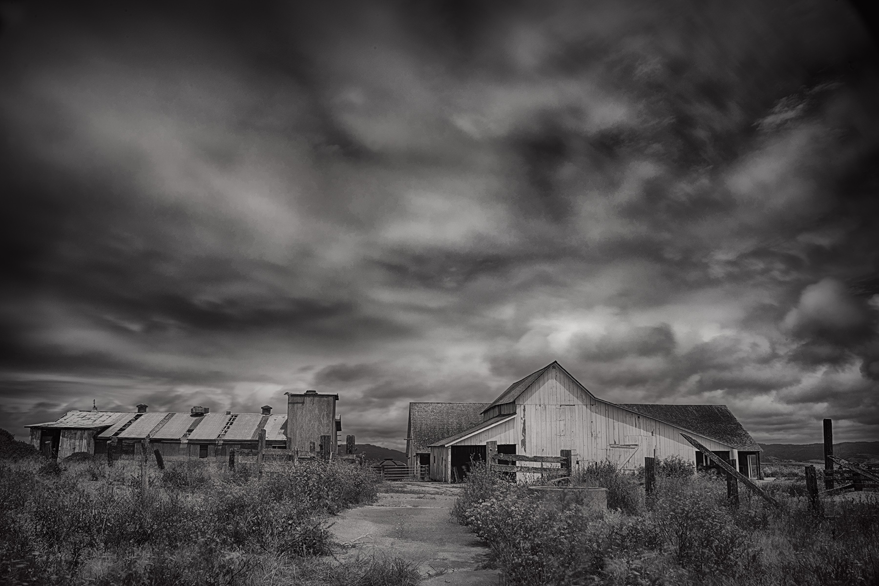 D Ranch (Black and White) © Harold Davis