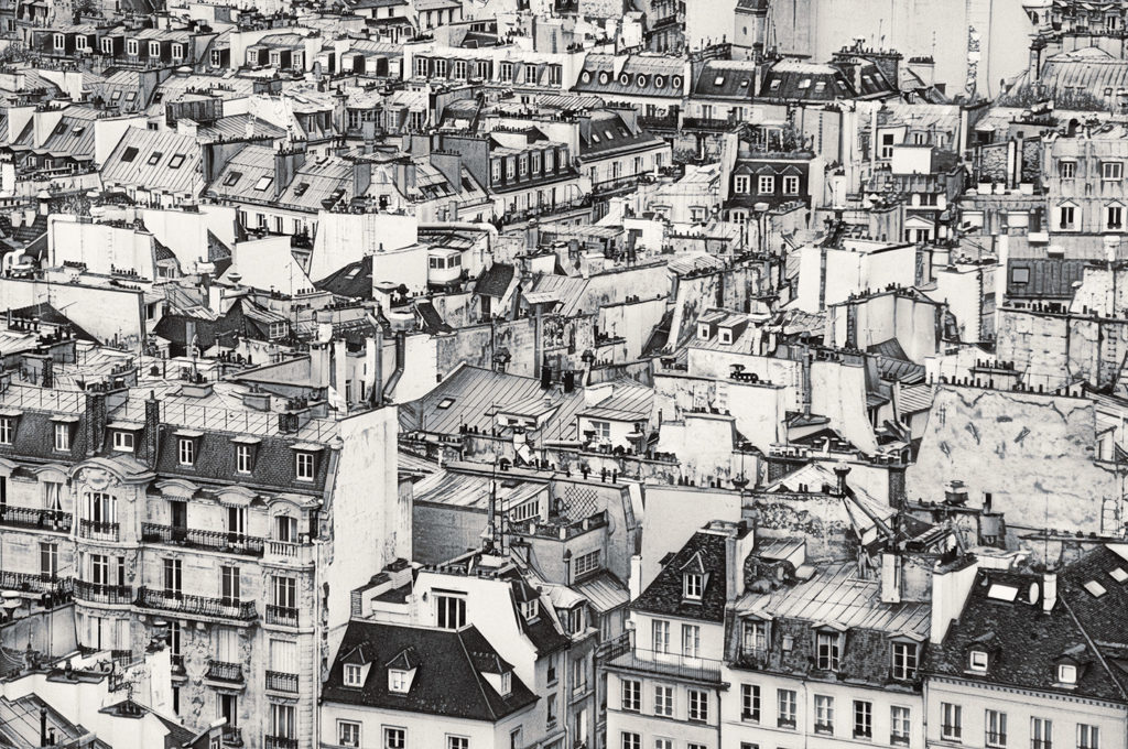 Rooftops of Paris © Harold Davis